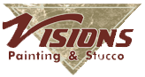 Visions Painting & Stucco Logo